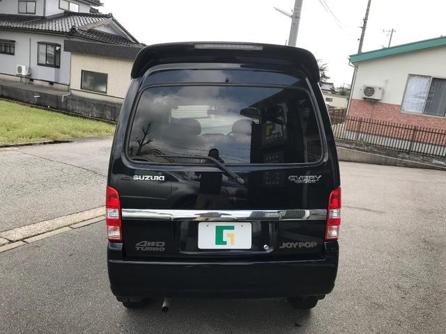 スズキ エブリイワゴン ジョイポップターボ 4WD ナビ フルセグTV
