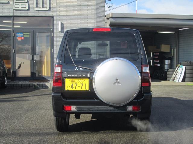 三菱 パジェロミニ XR 4WD シートヒーター 純正15AW