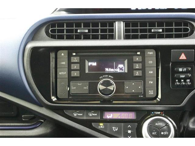 トヨタ アクア S CDチューナー付き ETC キーレス 横滑り防止装置