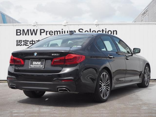 530i Mスポーツ デモカー 液晶メーター 認定中古車(4枚目)