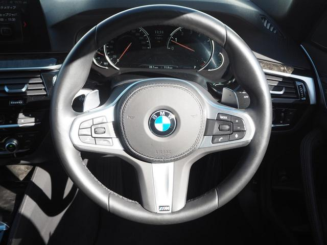 530i Mスポーツ デモカー 液晶メーター 認定中古車(11枚目)
