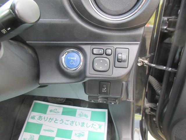 Gブラックソフトレザーセレクション 純正SDナビ プッシュS(15枚目)