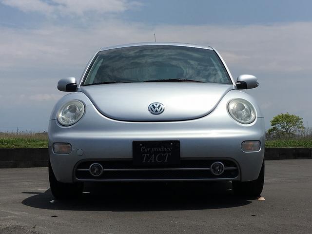 フォルクスワーゲン VW ニュービートル プラス オゾン消臭除菌済み ガラスコーティング施工 鑑定書付
