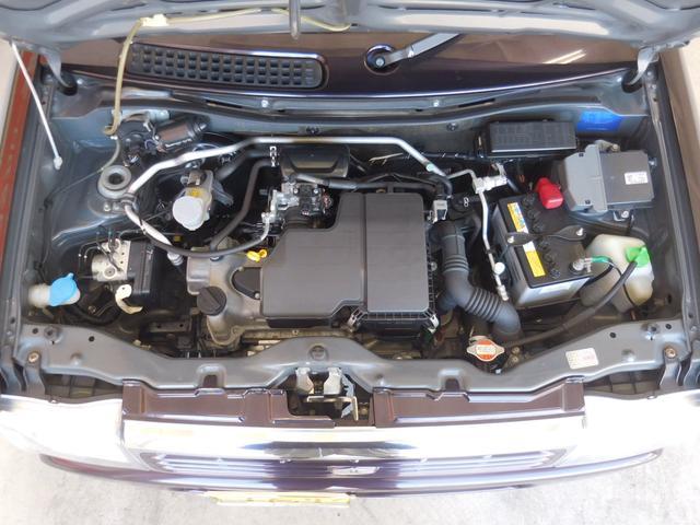 内外装だけでなくエンジンルームも徹底洗浄、プロならではの仕上がりです。