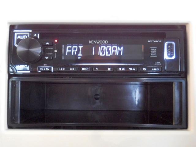 CDチューナー付き♪音楽といっしょに出かけよう!安全のため音量は控えめに。。