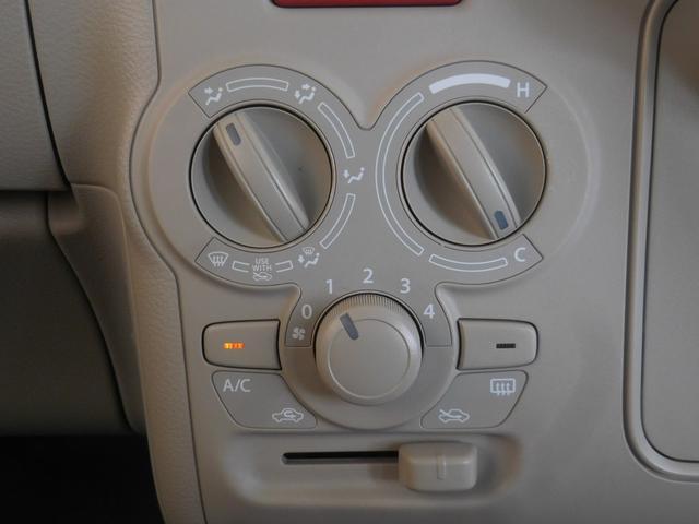 マニュアルエアコンが便利で快適なカーライフを演出します