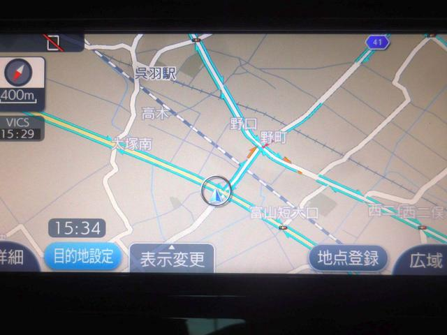 S メモリーナビ ETC 純正アルミ LED バックモニター(10枚目)