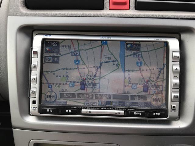 F HDDナビ 軽自動車 4AT エアコン 4人乗り 記録簿(13枚目)