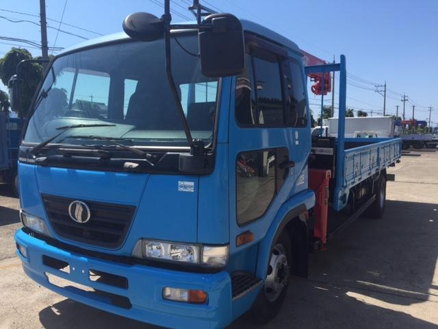 UDトラックス コンドル 3段クレーン