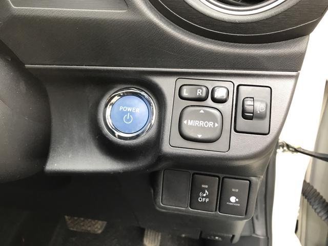 トヨタ アクア G バックカメラ スマートキー ハイブリット