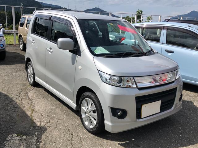 「スズキ」「ワゴンRスティングレー」「コンパクトカー」「福井県」の中古車3