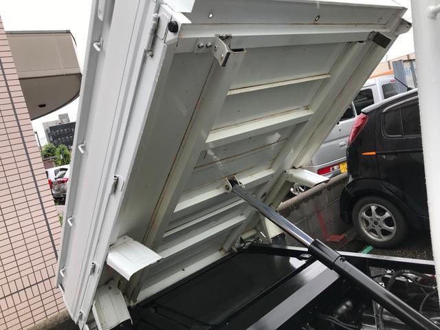 三方開ダンプ 4WD 5速マニュアル車 エアコン パワステ(5枚目)