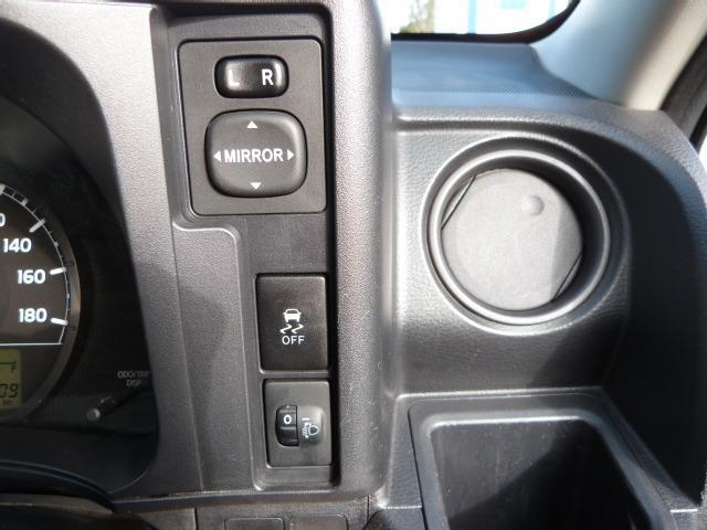 ヘッドライトの照射角度を微妙に調整できます。後席乗車時や荷物の積載時に役立ちます。なかなかの便利機能ですね〜!
