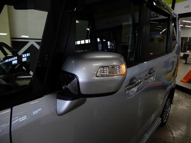 ホンダ N-BOX+カスタム G・ターボパッケージ 4WD クルコン 両側パワードア