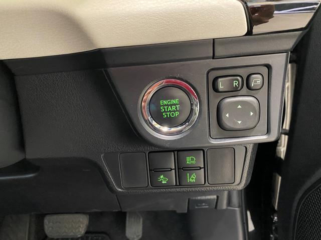 プッシュエンジンスターター☆ブレーキを踏みながらスタータースイッチを押すだけでエンジンが始動!走りの高揚感を、よりいっそう高めます!