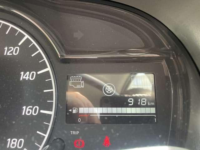 エンジンが動いているかを表すインジケーターがついています!走行距離は約1000kmです☆