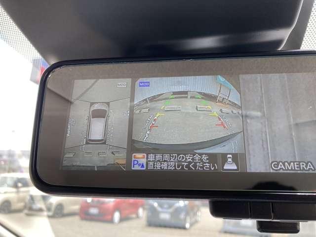 狭い駐車場での運転を支援するアラウンドビューモニター付☆