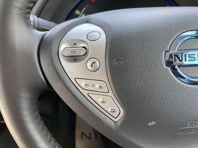 オーディオ等の操作ができるハンドルスイッチ付!運転中でも安心です☆
