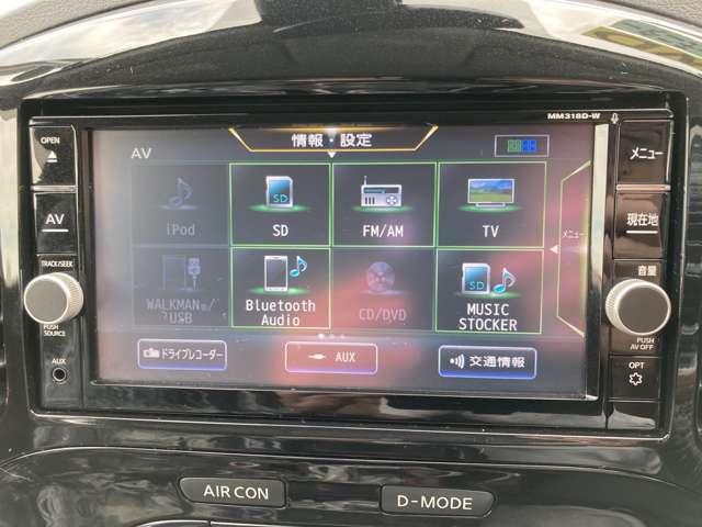 ブルートゥース機能でハンズフリー通話ができます!運転中でも安心です☆
