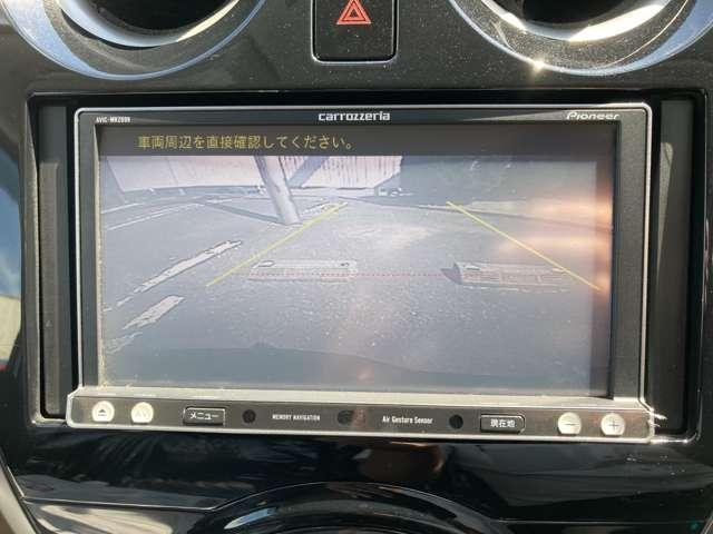 狭い駐車場等での運転を支援するバックビューモニター付☆