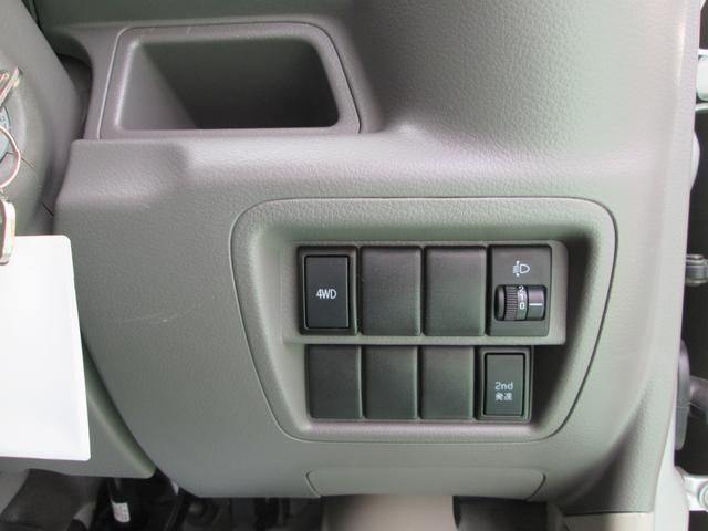 PA ハイルーフ 4WD エアバッグ エアコン パワステ(9枚目)