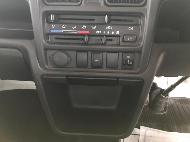 5MT 4WD エアコン パワステ 軽トラック 三方開(14枚目)