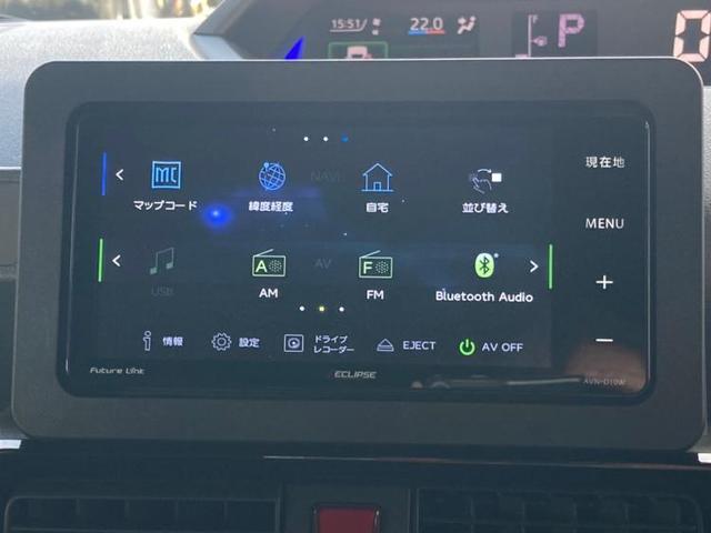 カスタムRS 社外 7インチ ナビ/両側電動スライドドア/スマートアシスト(ダイハツ)/車線逸脱防止支援システム/パーキングアシスト バックガイド/ドライブレコーダー 純正/ヘッドランプ LED ターボ DVD再生(9枚目)