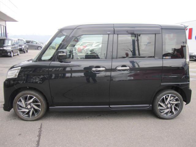 「スズキ」「スペーシアカスタム」「コンパクトカー」「福井県」の中古車4