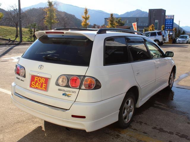 トヨタ カルディナ G 4WD AW キャリア CD