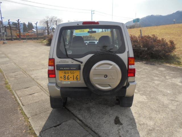 「三菱」「パジェロミニ」「コンパクトカー」「福井県」の中古車4