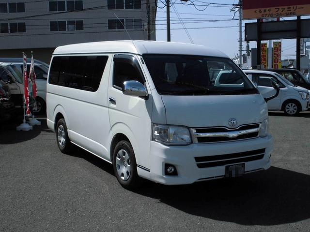「トヨタ」「ハイエース」「ミニバン・ワンボックス」「福井県」の中古車2