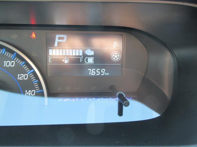 走行距離は7659キロです