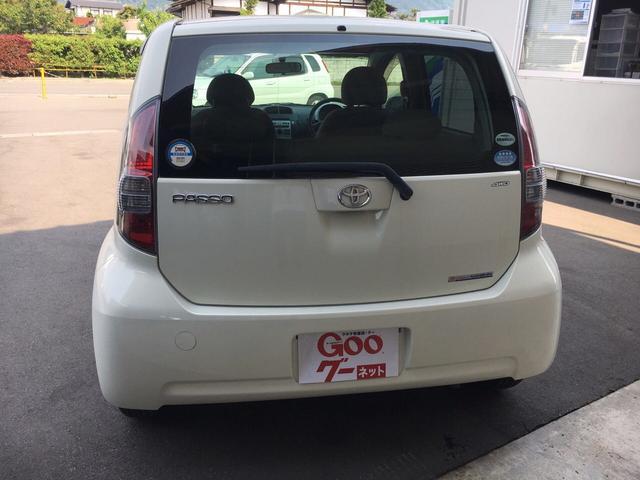 トヨタ パッソ G Fパッケージ 4WD スマートキー イオンクリーン