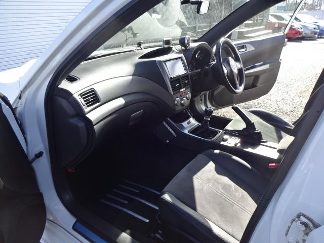 スバル インプレッサ WRX STi4WD 後期仕様 車高調 社外マフラー ナビ