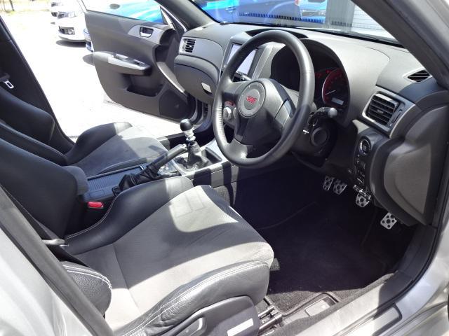 WRX STi 4WD純正RECARO HDDナビTVETC(11枚目)