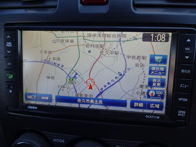 スバル インプレッサスポーツ 2.0iアイサイト 4WD ナビ TV ETC