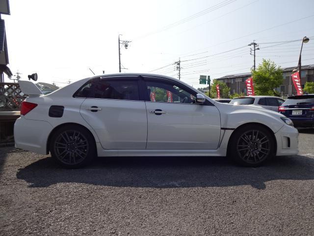WRX STi 4WD オーリンズ車高調 社外マフラー(4枚目)