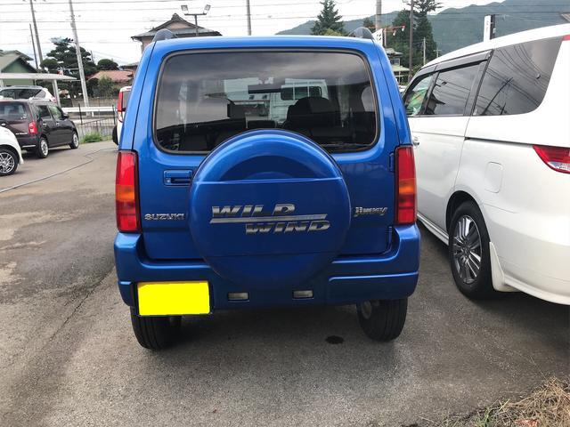 ワイルドウインド 4WD ターボ 新品タイヤ 新品黒革調シートカバー(5枚目)