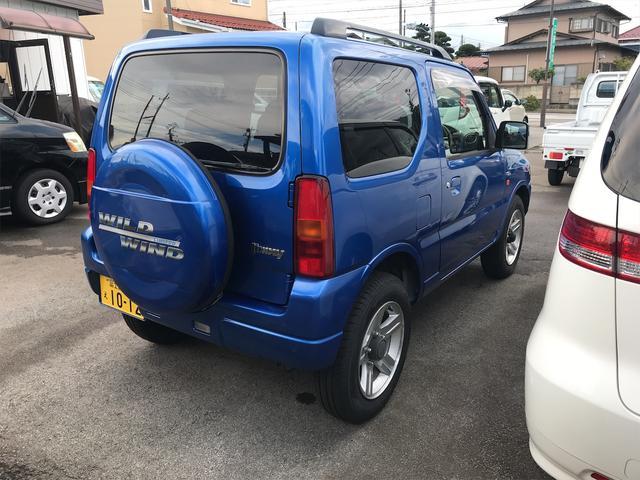 ワイルドウインド 4WD ターボ 新品タイヤ 新品黒革調シートカバー(6枚目)
