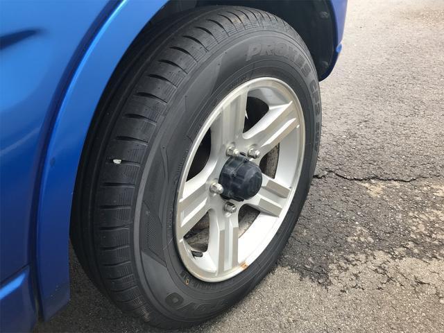 ワイルドウインド 4WD ターボ 新品タイヤ 新品黒革調シートカバー(9枚目)