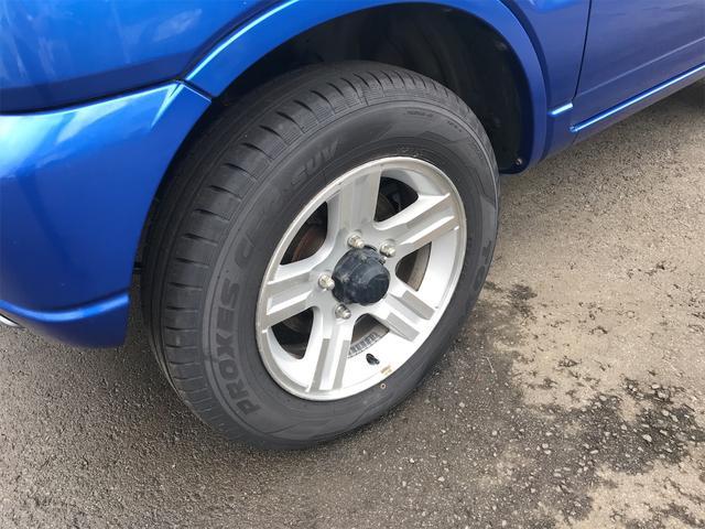 ワイルドウインド 4WD ターボ 新品タイヤ 新品黒革調シートカバー(10枚目)