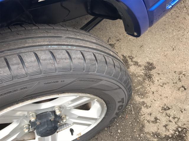 ワイルドウインド 4WD ターボ 新品タイヤ 新品黒革調シートカバー(12枚目)