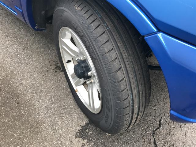 ワイルドウインド 4WD ターボ 新品タイヤ 新品黒革調シートカバー(18枚目)