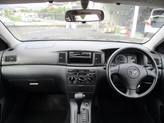 トヨタ カローラフィールダー X リミテッド 4WD キーレス アルミホイール