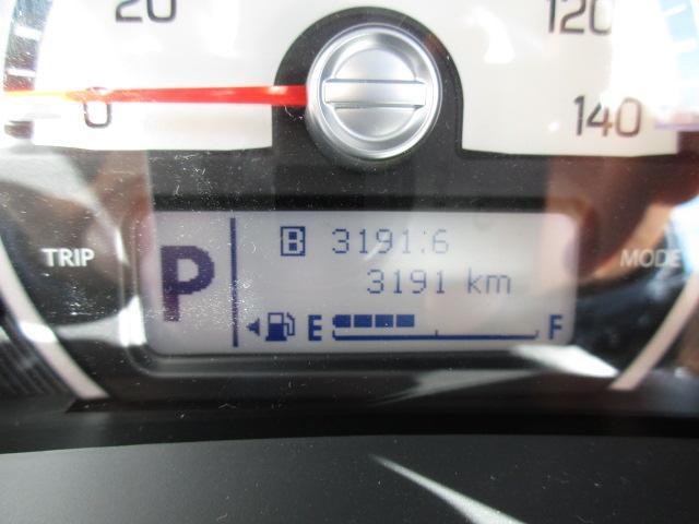 走行距離は3,191kmです!