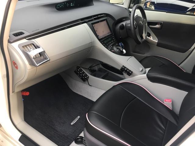 トヨタ プリウス S LEDエディション フルエアロ 9型SDナビTV