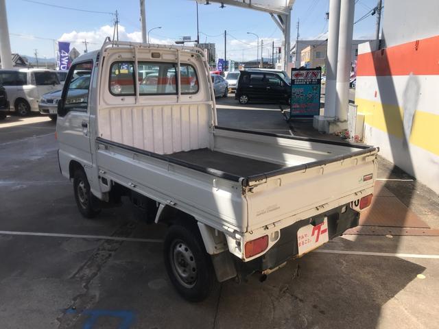 スバル サンバートラック 4WD オートマ スーパーチャージャー パワステ
