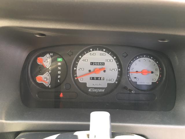 ダイハツ アトレーワゴン カスタムターボ4WD エアロ アルミ タイミングベルト交換済