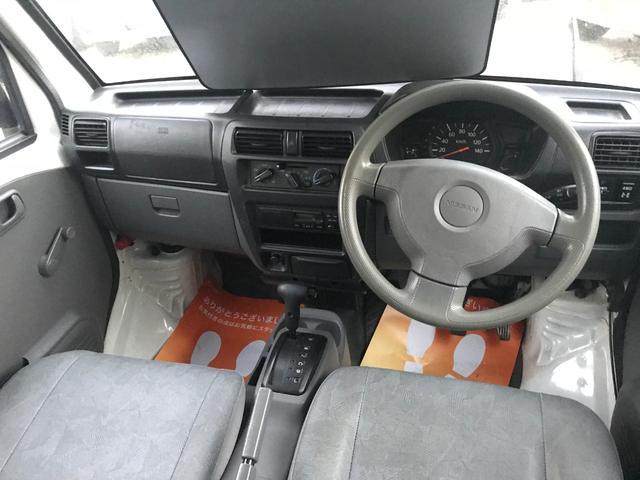SD 4WD エアコン パワステ AT ラジオ ハイルーフ(8枚目)
