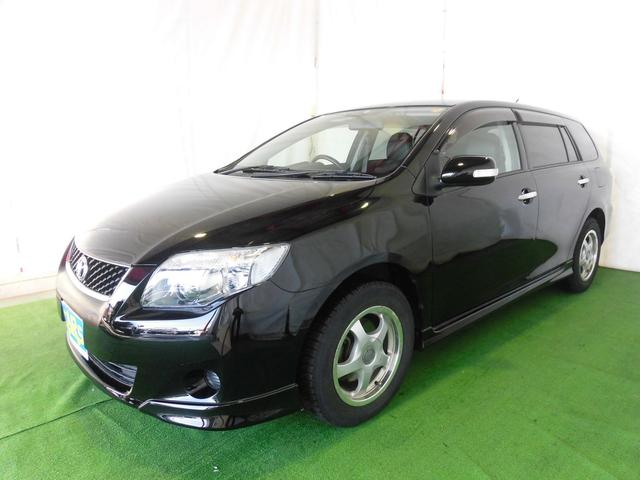 トヨタ カローラフィールダー X 202 新品ナビ付 レザーシート キセノン ETC